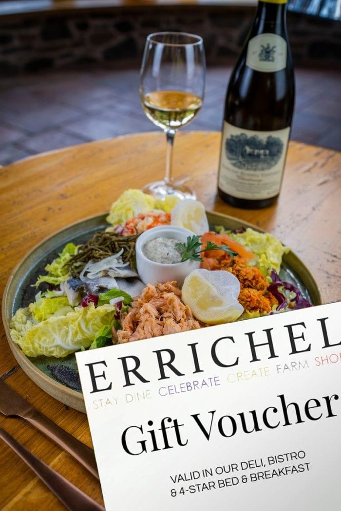 Purchase your Errichel gift card in your chosen denomination