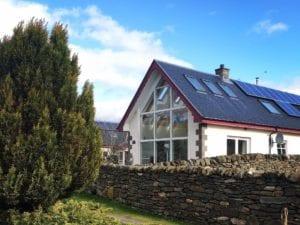 Croit Ne Greine Perthshire Holiday Cottage exterior