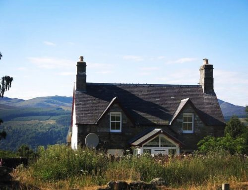 Burns Night Supper & a Cottage above the famous Birks of Aberfeldy