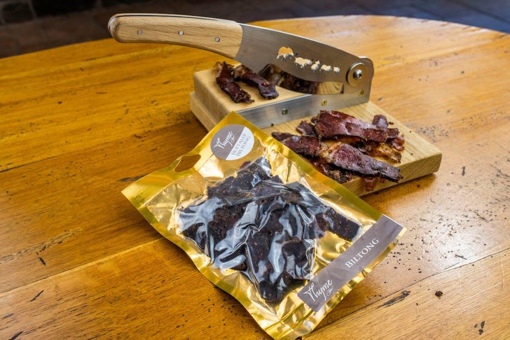 Shetland beef biltong