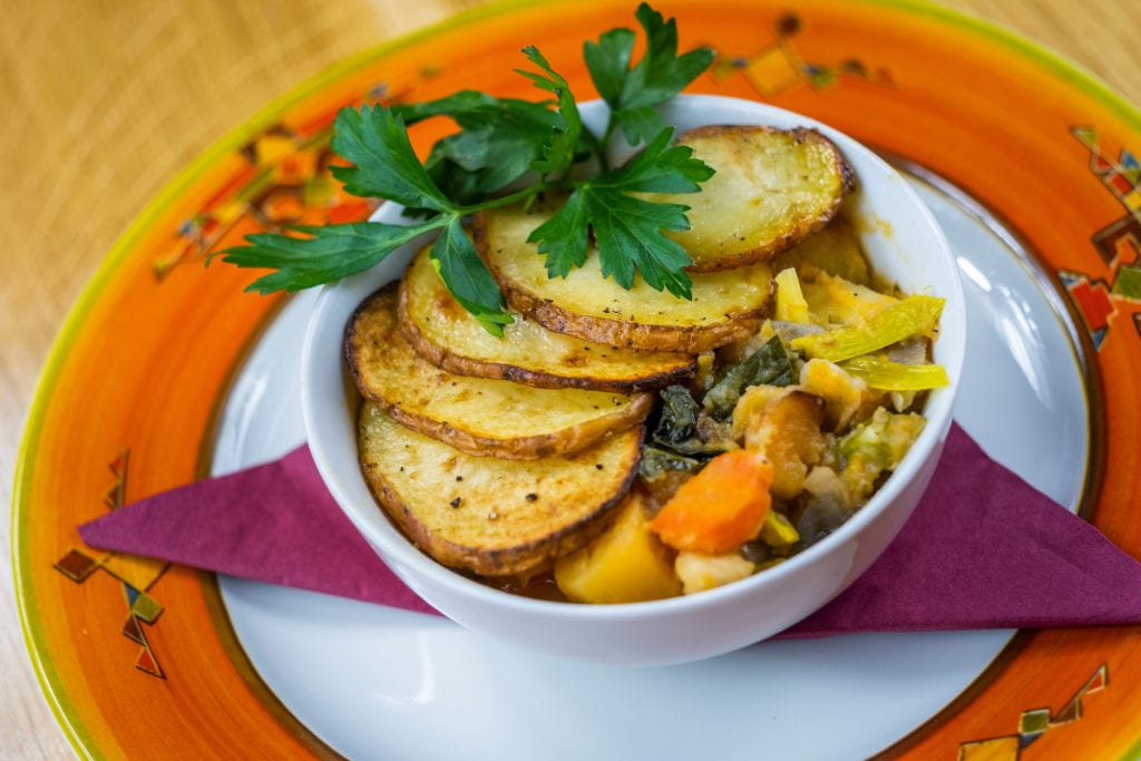 Hotpot dish available at Thyme Bistro - a great venue for a delicious lunch in Aberfeldy