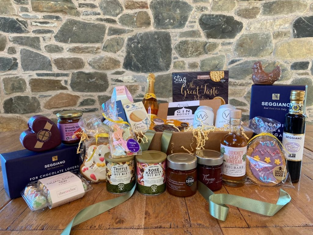 Beautiful Errichel Easter gift hamper