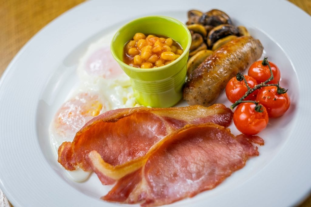 Delicious breakfast at Errichel, luxury accomodation in Aberfeldy