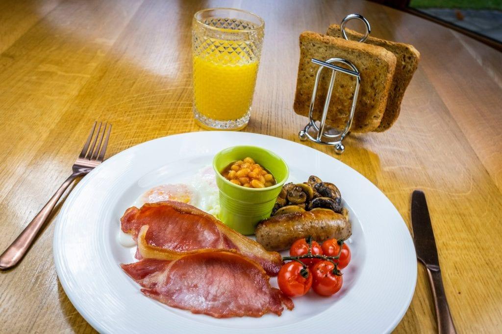 'Thyme' Breakfast at Errichel - the best place to stay in Aberfeldy