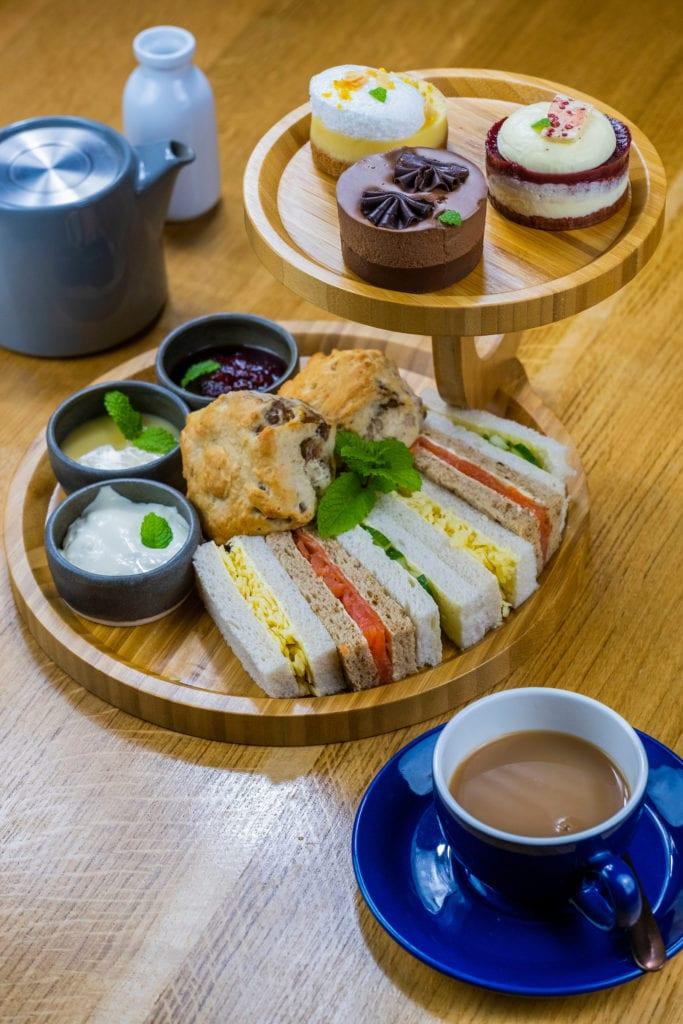 Full Afternoon tea in Aberfeldy at Errichel - beautiful bistro in Aberfeldy