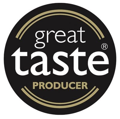 Great Taste Producer logo - our lemon curd has won the Great Taste two star award, and can be enjoyed as part of our afternoon tea in Aberfeldy
