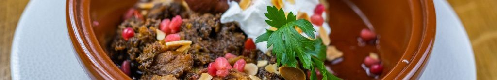 Margmore Venison Tagine - perfect for lunch in Aberfeldy