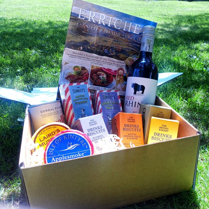 Wine and Cheese Hamper from Errichel