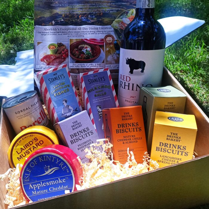 Wine and Cheese Lovers Hamper from Thyme Bistro at Errichel
